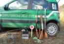 TUTELA ANIMALI: TRIPLICE INTERVENTO IN DUE PROVINCE PUGLIESI DEI CARABINIERI FORESTALI DI BARI
